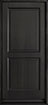 DB-303PS Mahogany-Espresso Wood Entry Door