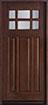 DB-311 CST Mahogany-Dark Mahogany Wood Entry Door
