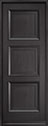 DB-314PT Mahogany-Espresso Wood Entry Door