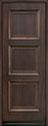 DB-314PT Mahogany-Walnut Wood Entry Door