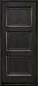DB-314PW Mahogany-Espresso Wood Entry Door