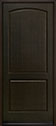 DB-701PW European White Oak-Espresso Wood Entry Door