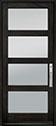 DB-823PWC Mahogany-Espresso Wood Door - in-Stock