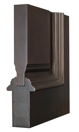 Solid Wood Door Structure Corner Sample