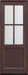 Classic Series Mahogany Wood Front Door  - GD-004PT
