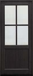 Classic Series Mahogany Wood Front Door  - GD-004PW