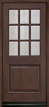 Classic Series Mahogany Wood Front Door  - GD-009