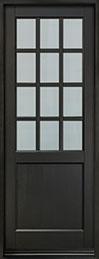 Classic Mahogany Wood Front Door  - GD-012PT