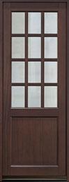 Classic Series Mahogany Wood Front Door  - GD-012PT