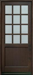 Classic Series Mahogany Wood Front Door  - GD-012PW