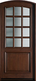 Classic Mahogany Wood Front Door  - GD-012WA