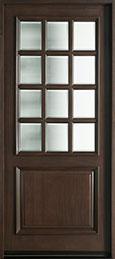 Classic Series Mahogany Wood Front Door  - GD-012W