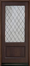 Classic Series Mahogany Wood Front Door  - GD-101PSDG