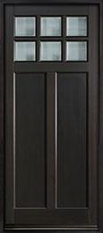Classic Mahogany Wood Front Door  - GD-112PW