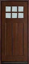 Classic Series Mahogany Wood Front Door  - GD-112