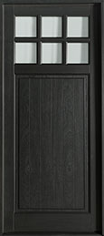 Classic Mahogany Wood Front Door  - GD-113PW