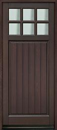Classic Series Mahogany Wood Front Door  - GD-113PW-A