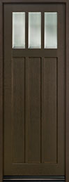 Classic Series Mahogany Wood Front Door  - GD-114PT