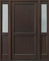 Classic Series Mahogany Wood Front Door  - GD-201PS 2SL