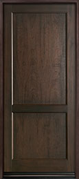 Classic Series Mahogany Wood Front Door  - GD-201PW