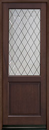 Classic Series Mahogany Wood Front Door  - GD-203PTDG