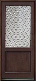Classic Mahogany Wood Front Door  - GD-203PWDG