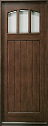 Craftsman Series Mahogany Wood Front Door  - GD-211T