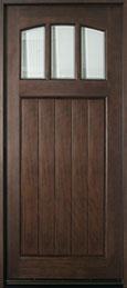 Craftsman Series Mahogany Wood Front Door  - GD-211W