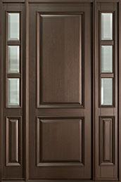 Classic Series Mahogany Wood Front Door  - GD-301PT 2SL