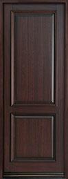 Classic Series Mahogany Wood Front Door  - GD-301PT
