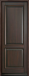 Classic Series Mahogany Wood Front Door  - GD-301PT