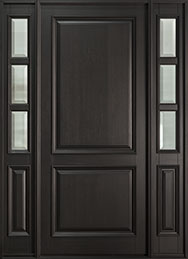 Classic Series Mahogany Wood Front Door  - GD-301PW 2SL