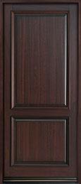 Classic Series Mahogany Wood Front Door  - GD-301PW