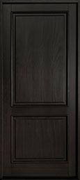 Classic Mahogany Wood Front Door  - GD-302PW