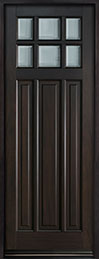 Classic Mahogany Wood Front Door  - GD-311PT