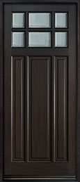 Classic Mahogany Wood Front Door  - GD-311PW