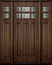 Classic Series Mahogany Wood Front Door  - GD-311 2SL