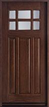 Classic Mahogany Wood Front Door  - GD-311 CST