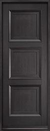 Classic Mahogany Wood Front Door  - GD-314PT