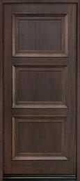 Classic Mahogany Wood Front Door  - GD-314PW