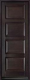 Classic Series Mahogany Wood Front Door  - GD-4000PT