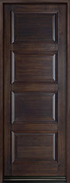 Classic Series Mahogany Wood Front Door  - GD-4000PT