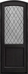 Classic Series Mahogany Wood Front Door  - GD-552PTDG