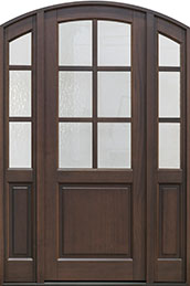 Classic Series Mahogany Wood Front Door  - GD-651PT 2SL