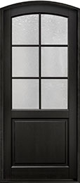 Classic Series Mahogany Wood Front Door  - GD-651PW