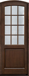 Classic Series Mahogany Wood Front Door  - GD-801PT