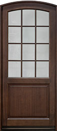 Classic Mahogany Wood Front Door  - GD-801PW