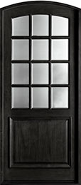 French Mahogany Wood Front Door  - GD-801W