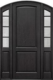 Classic Series Mahogany Wood Front Door  - GD-802PT 2SL