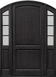 Classic Series Mahogany Wood Front Door  - GD-802PW 2SL